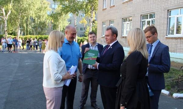 Валерий Лидин: В Пензенской области бесплатное горячее питание смогут получать более 55 тысяч школьников